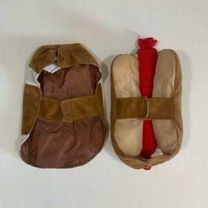 Other - 🍀3/$25 Dog Football & Hotdog Costumes